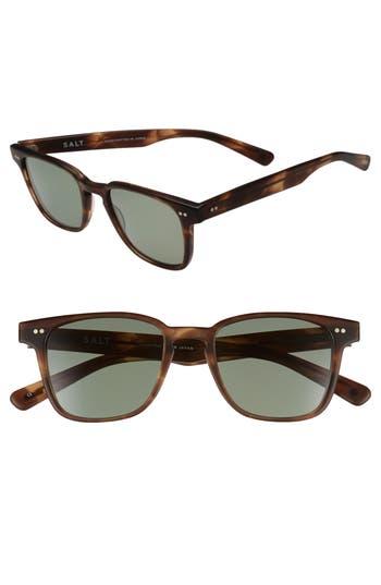 Men's Salt Reiner 51Mm Polarized Sunglasses - Black