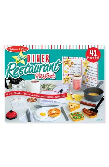 Infant Melissa & Doug 41-Piece Star Diner Restaurant Play Set