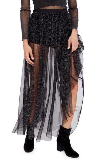 Women's Free People Brightest Star Sheer Maxi Skirt