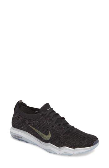 Women's Nike Air Zoom Fearless Flyknit Metallic Training Shoe