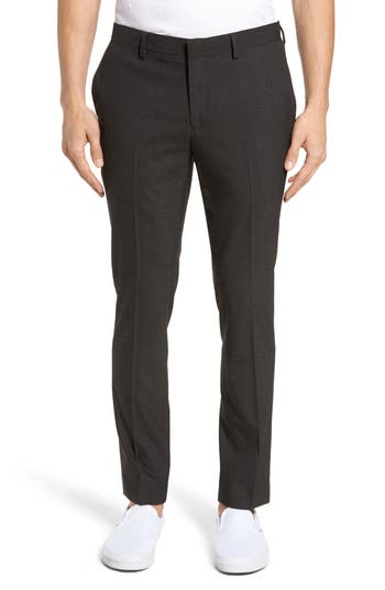 Men's Topman Black Skinny Fit Trousers