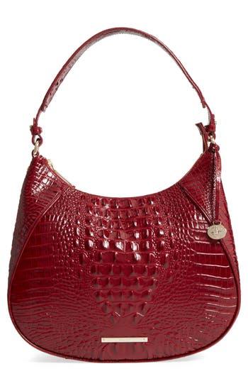 Brahmin Melbourne Amira Shoulder Bag - Red