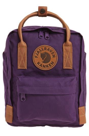 Fjallraven Mini Kanken No. 2 Water Resistant Backpack - Purple