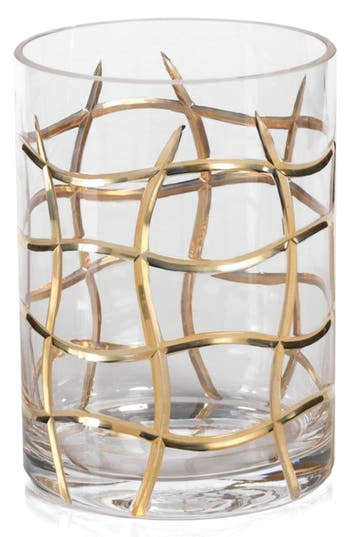 Zodax Groove Hurricane Candle Holder, Size One Size - Metallic