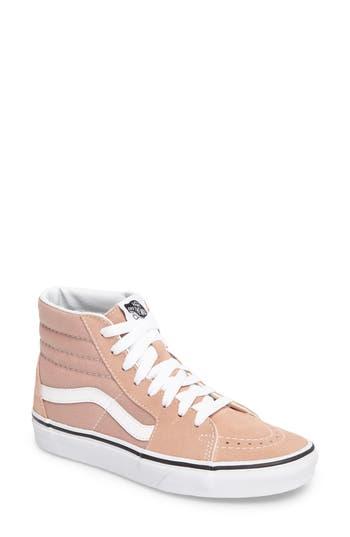 Vans  Sk8-Hi  Sneaker In Mahogany Rose  True White  a36f2b28e