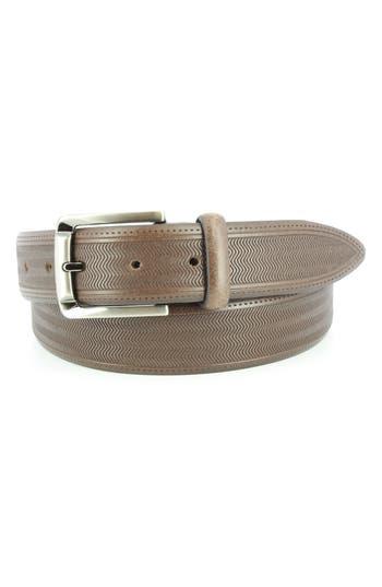 Remo Tulliani Raspail Leather Belt, Brown