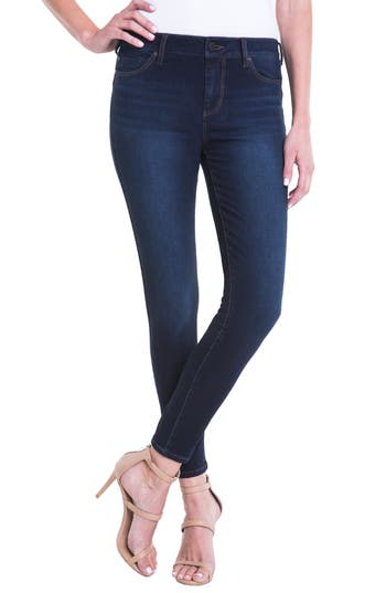 Women's Liverpool Jeans Company Piper Hugger Lift Sculpt Ankle Skinny Jeans