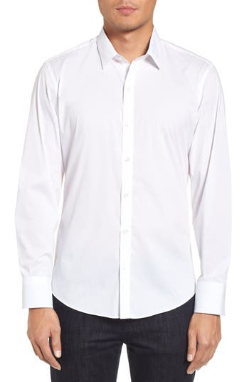 Men's Zachary Prell Robert Dobby Diamond Sport Shirt