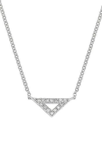 Women's Carrière Diamond Triangle Pendant (Nordstrom Exclusive)