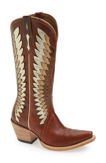 Ariat Goldcrest Western Boot- Brown
