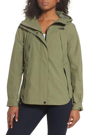 The North Face Ditmas Rain Jacket, Green
