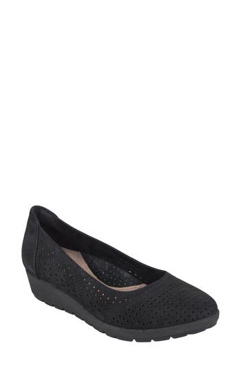 Earth Violet Wedge, Black