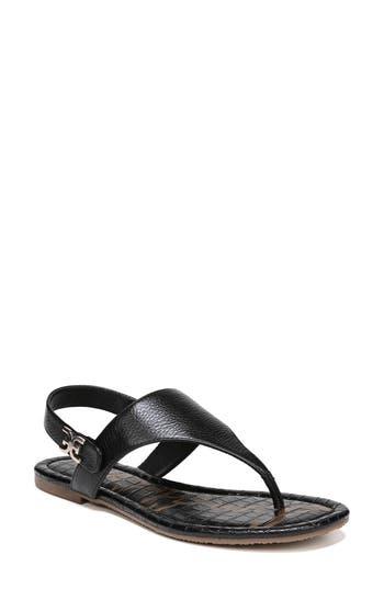 Women's Sam Edelman Cason Sandal, Size 5 M - Black