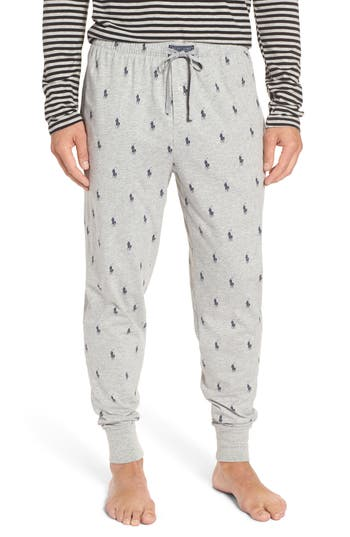 Polo Ralph Lauren Men S Lightweight Cotton Logo Pajama Pants In