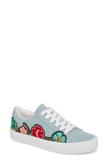 Jessica Simpson Dessa Embroidered Sneaker, Blue