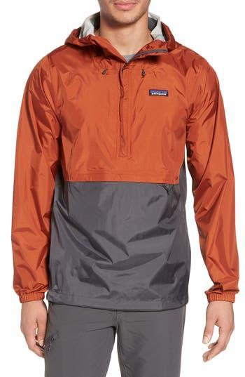 Patagonia Torrentshell Packable Regular Fit Rain Jacket, Brown