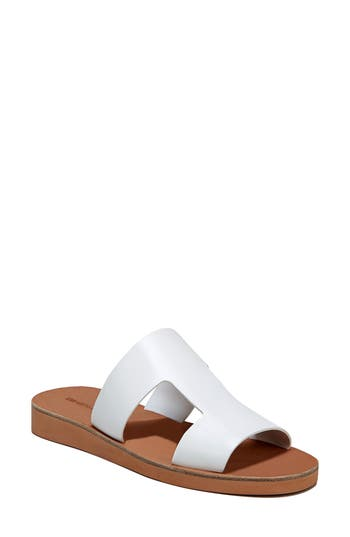 Women's Via Spiga Blanka Sandal, Size 10.5 M - White