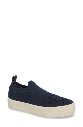 Jslides Hilo Platform Slip-On Sneaker, Blue