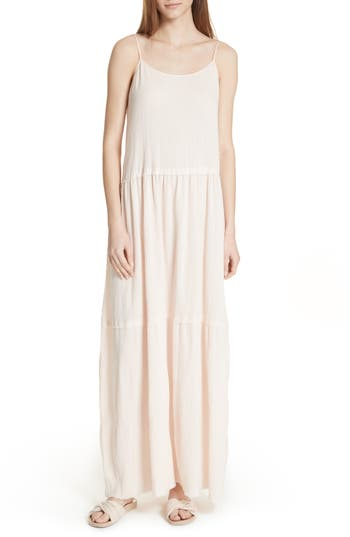 Atm Anthony Thomas Melillo Tiered Maxi Dress, Pink