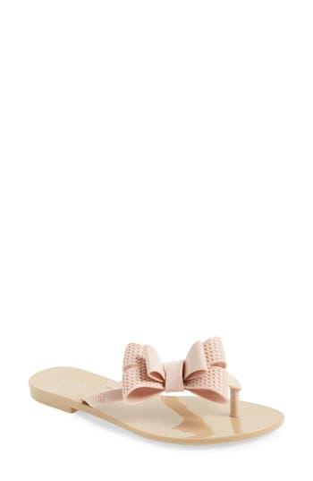 Melissa Harmonic Bow Iii Flip Flop, Pink