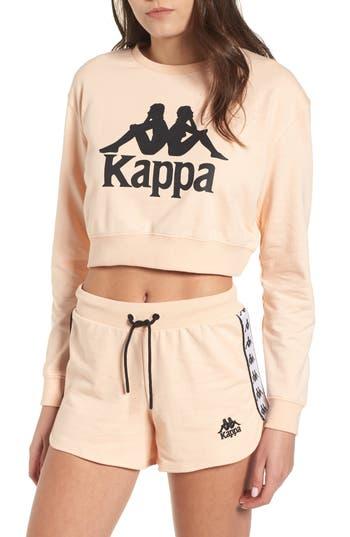 Kappa Bamm Bamm Crop Sweatshirt, Pink