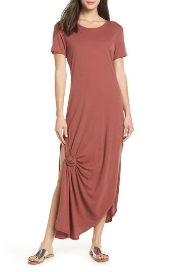 Tavik Jones Cover-Up Dress, Burgundy