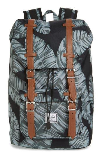 1c6aaf70603f Herschel Supply Co. Little America - Mid Volume Backpack - Black In Black  Palm