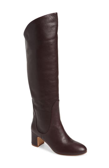 Splendid Nick Knee High Boot, Purple