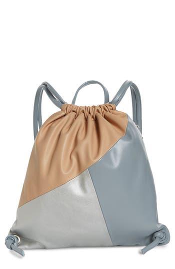 Bp. Tricolor Drawstring Backpack - Blue