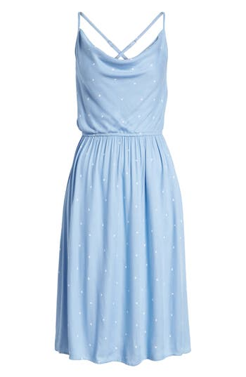 Volcom Mystic Mama Dress, Blue