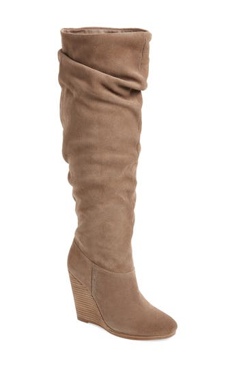 Charles By Charles David Holly Wedge Boot, Beige