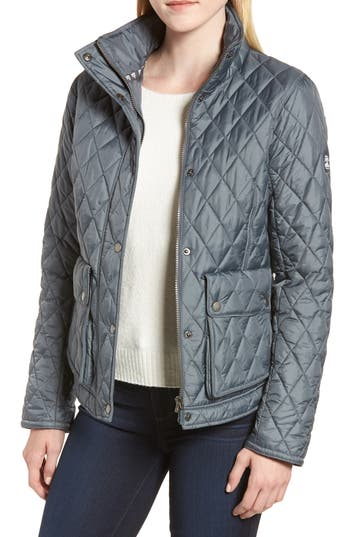 Barbour Fairway Quilted Jacket, US / 8 UK - Grey