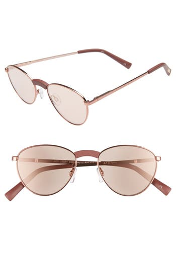 Le Specs Hot Stuff 52Mm Sunglasses - Rose Brown