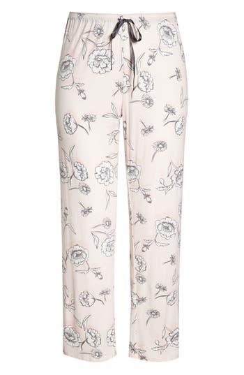 Plus Size Pj Salvage Shadow Pajama Pants, Pink