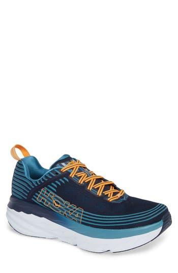 Hoka One One Bondi 6 Running Shoe- Blue