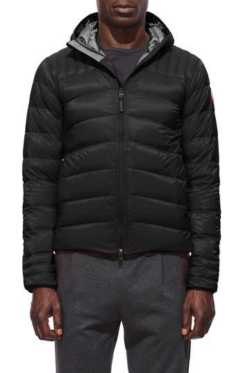 Canada Goose Brookvale Hooded Down Jacket, Black