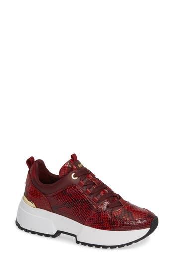 Cosmo Sneaker, Maroon