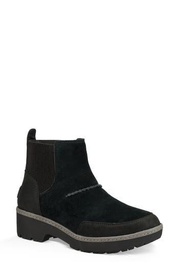 Ugg Kress Water Resistant Ankle Bootie- Black