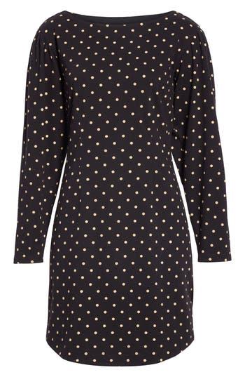La Vie Rebecca Taylor Polka Dot Jersey Shift Dress