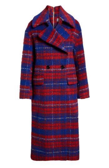Vintage Coats & Jackets | Retro Coats and Jackets Womens Topshop Bodika Check Coat $300.00 AT vintagedancer.com