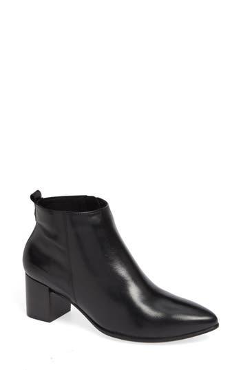 Ecco Shape 45 Block Heel Bootie, Black