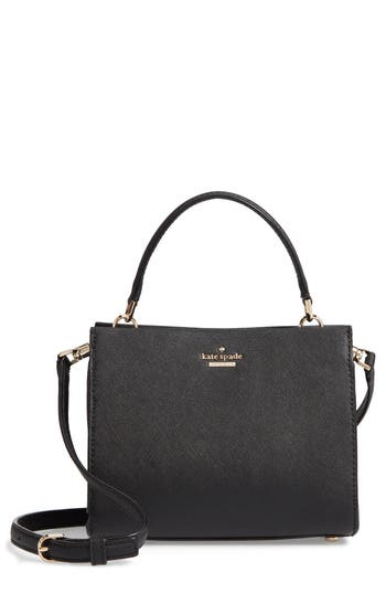 Small Cameron Street - Sara Leather Satchel - Black