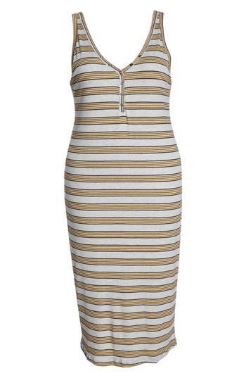 All In Favor Rib Knit Tank Dress