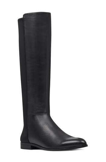 Nine West Owenford Knee High Riding Boot, Black