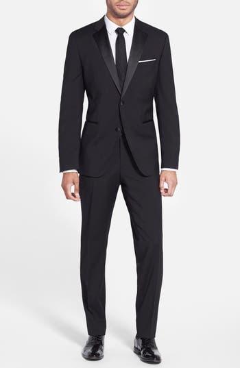Men's Boss The Stars/glamour Trim Fit Wool Tuxedo
