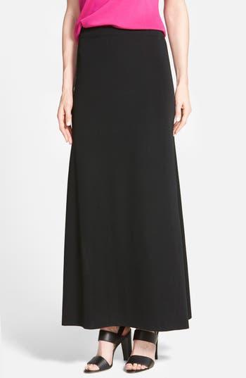 Women's Ming Wang A-Line Knit Maxi Skirt