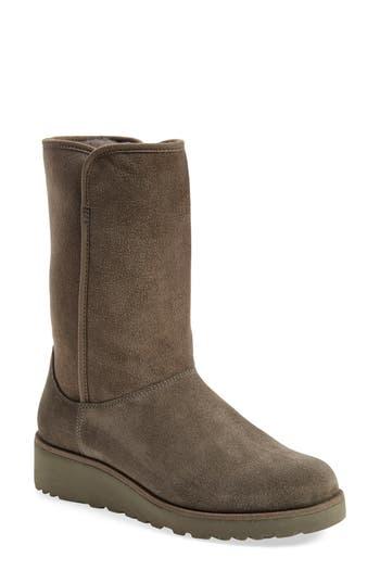 Ugg Amie - Classic Slim(TM) Water Resistant Short Boot, Grey