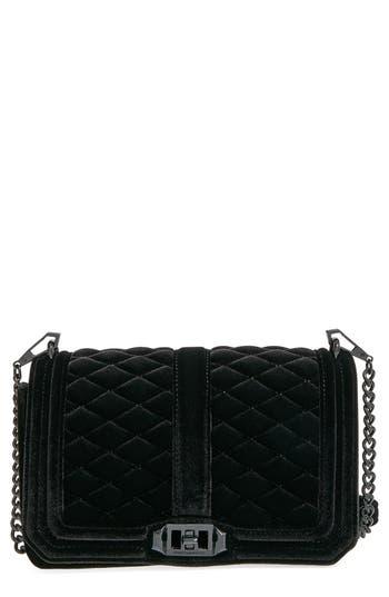 Rebecca Minkoff 'Velvet Love' Crossbody Bag - Black
