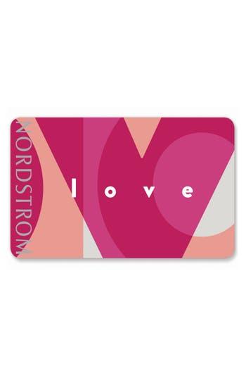 Nordstrom Love Gift Card $750