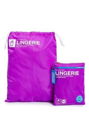 Flight 001 'Go Clean' Lingerie Travel Bag -